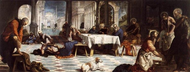 Tintoretto -El lavatorio 1547