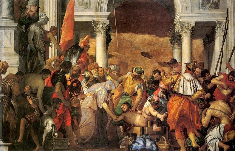 Veronese martyrdom-of-st-sebastian