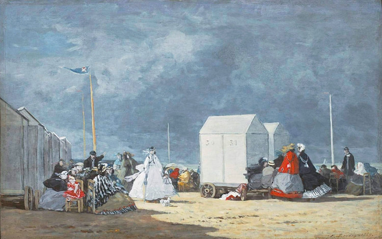 Boudin -Approching storm 1864