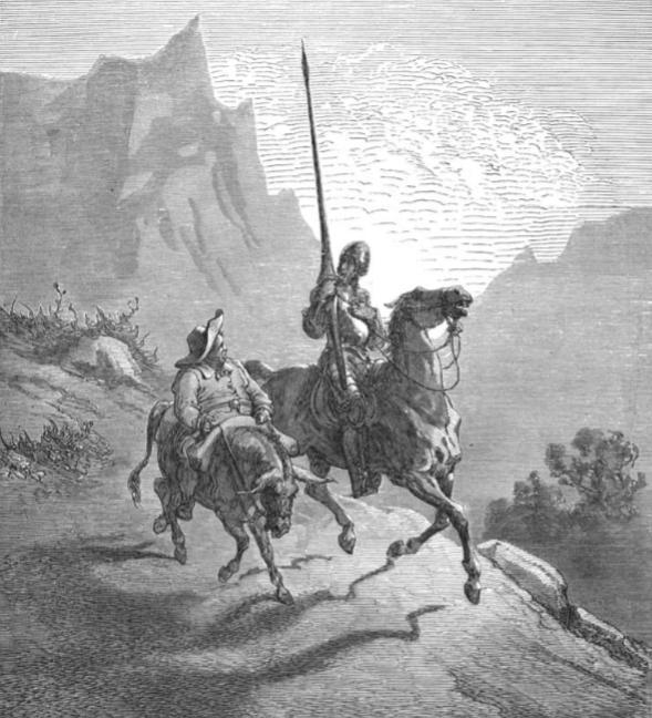 Gustave Doré -Ilustración para El Quijote (2)