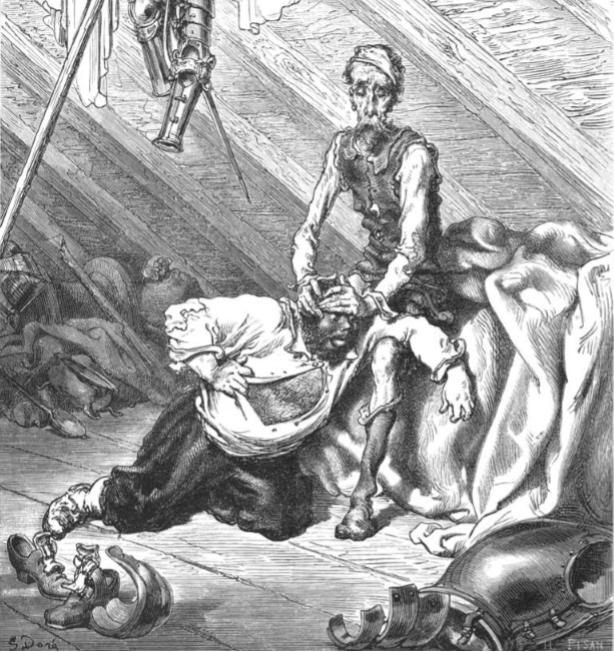 Gustave Doré -Ilustración para El Quijote (3)