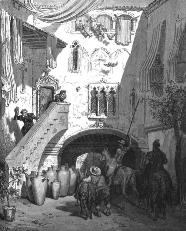 Gustave Doré -Ilustración para El Quijote (4)