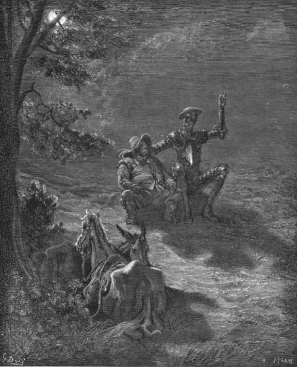 Gustave Doré -Ilustración para El Quijote (5)