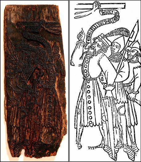El Centurión y dos soldados ca. 1370