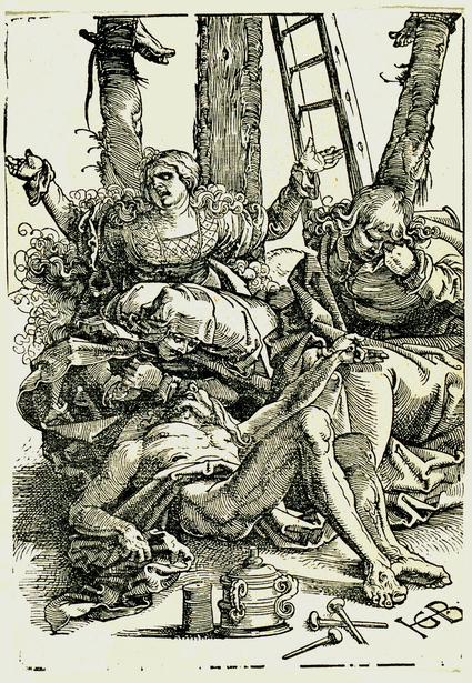 Hans Baldung Grien -The lamentation 1515