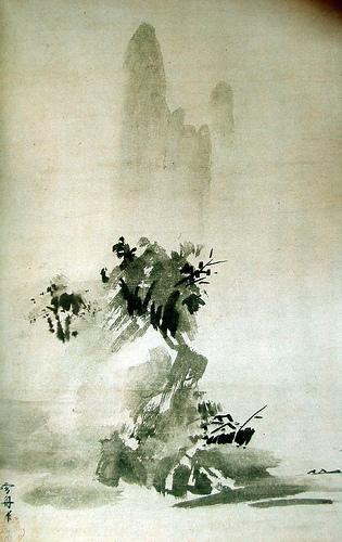 Sesshu Toyo -Landscape