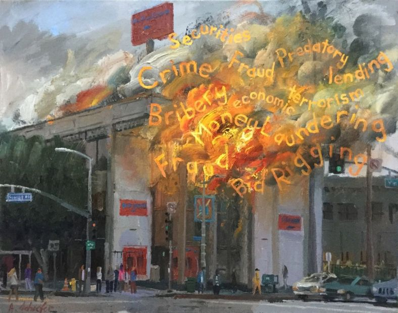 alex schaefer -bank of america sunset & vine, 2016