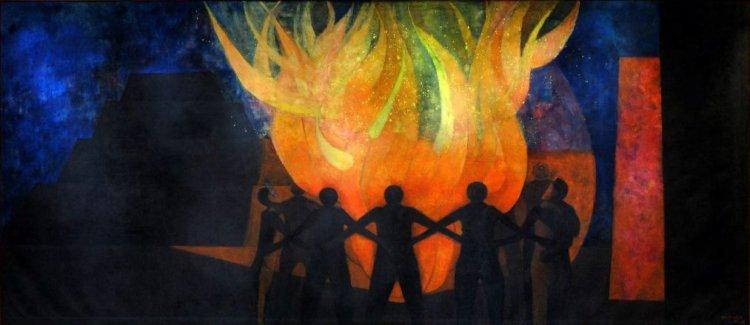 rufino tamayo -fraternidad o el fuego creador