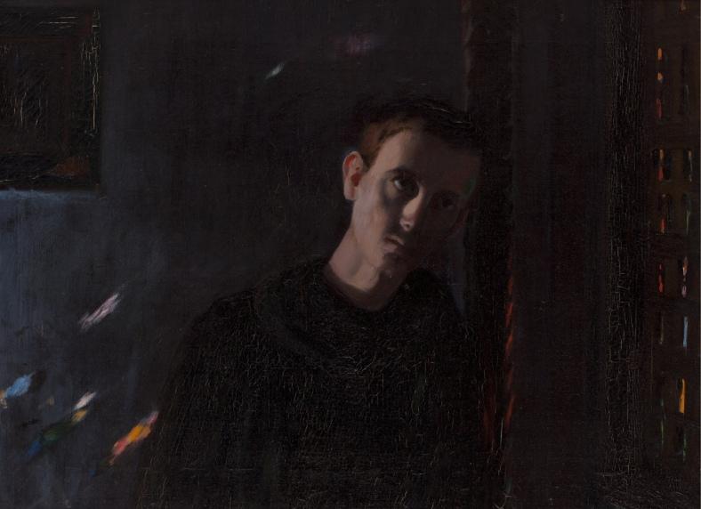 Santiago Rusiñol -Paroxismo del novicio 1897
