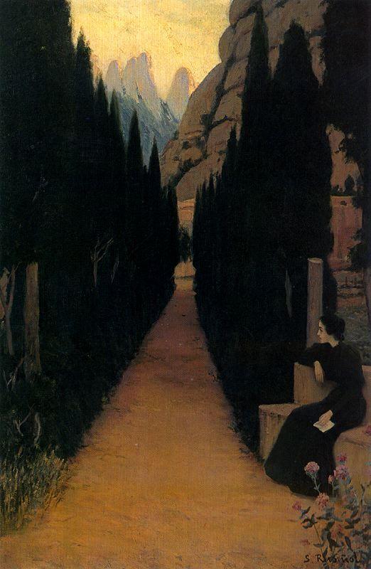 Santiago Rusiñol -Paseo místico