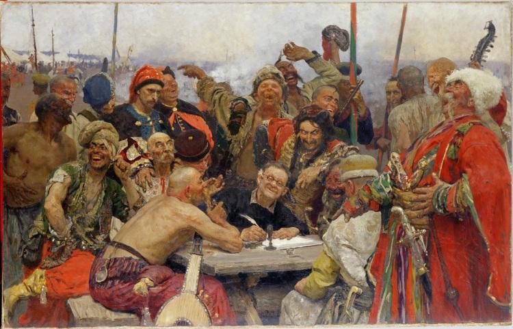 Ilya Repin -Reply of the Zaporozhian Cossacks