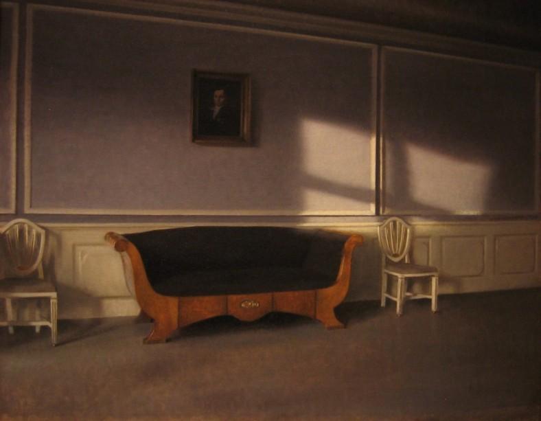 Vilhelm Hammershoi -Sunshine in the Drawing Room III 1903 National Museum Stockholm
