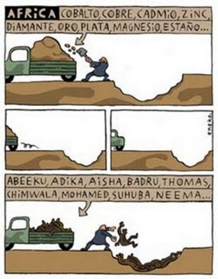 Africa intercambio desigual