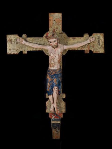 Crist d'Escunhau, Sant Pèir d'Escunhau (Vielha