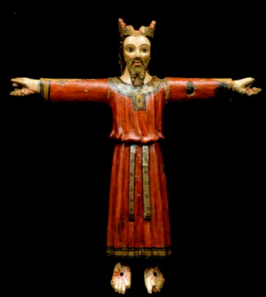 Majestat Viver i Serrateix s. XIV romànic tardà