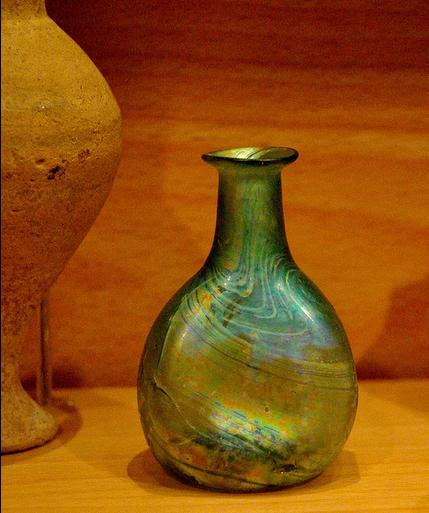 Flascó romà Museu d'Història de Barcelona