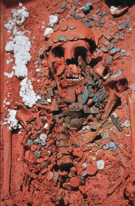 La reina roja de Palenque -Chiapas